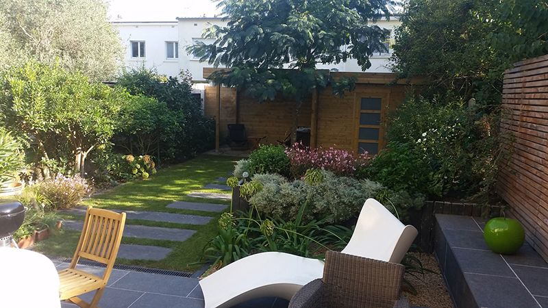 Am nagement de jardin vannes lorient quiberon maezad for Amenagement entree jardin